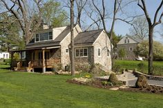 Black Walnut Farm Guest House - traditional - exterior - philadelphia - Sullivan Building & Design Group
