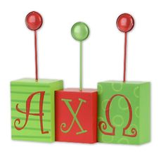 Alpha Chi Omega Letter Photo Holder $12.99