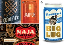 2019 Craft Beer Branding and Packaging Trends - CODO Design Personalized Pint Glasses, Craft Beer Brands, Packaging Design, Branding Design, Beer Industry, Brand Presentation, Beer Company, Business Gifts, Brewing Co