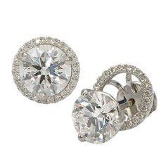 Halo Earring Jackets for Diamond Studs | Wixon Jewelers