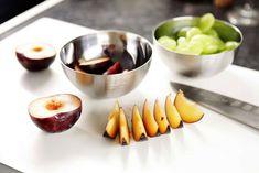 Rezept Tipp: Lammkrone / Mangosauce - Falstaff Falstaff, Tonka Bohne, Pak Choi, Brunch, Garlic Press, Kitchen, Gourmet, Dried Tomatoes, Meat