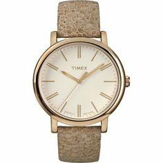 Timex Originals T2P325 Ladies Original Tan Mosaic Strap Watch | WatchCorridor