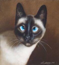 """Saatchi Art Artist Liene Liepiņa; Painting, """"Lora"""" #art"""