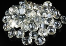 Glass Diamond Gems 20mm Lustre Clear 12oz same as other close up 6 bags/$12