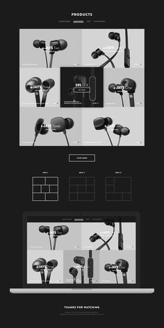 Minimal product list experiment based on responsive 1600px grid system. Made for fun. Image credits to Jays. #web #product #list #ui #minimal #responsive