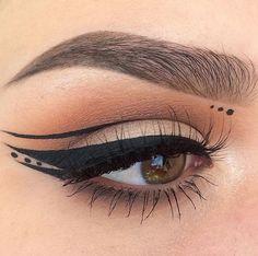 "Instagram | @kaitlyn_nguy  * Eyeshadow | Morphe Brushes 35O palette  * Eyeliner | NYC liquid liner  * Lashes | Luxy Lash ""Bae"""