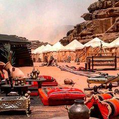 Bedouin tent , Wadi Rum , Jordan