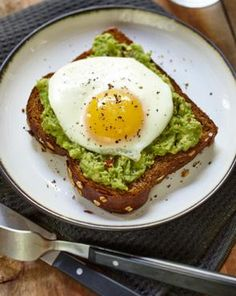 Egg and Avocado Toast   Wholesome Harvest