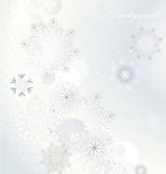snowflake background 04 vector