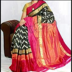 We are weaving Hand Loom Cotton/Silk Sarees. Kanchipuram Saree, Ikkat Silk Sarees, Pure Silk Sarees, Handloom Saree, Chiffon Saree, Indische Sarees, Cotton Saree Blouse Designs, Latest Silk Sarees, Ikkat Dresses