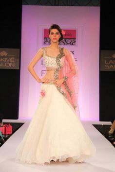 Anushree Reddy Lehenga Choli for Bridal Wear & Weddings: Anushree Reddy is an Indian designer who very recently took step in this glamorous world but won Lehenga Choli, Sabyasachi, Anarkali, Pink Lehenga, Bollywood Lehenga, Sharara, Bridal Lehenga, Indian Wedding Fashion, Indian Bridal Wear