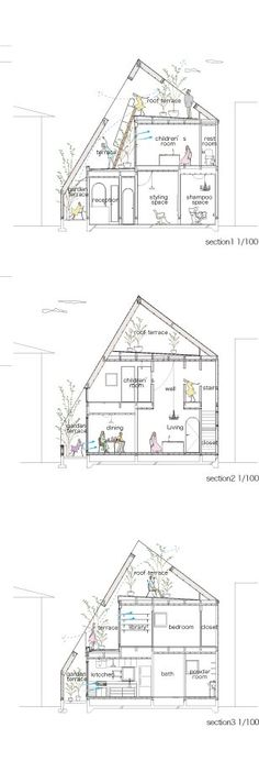 Gallery of Montblanc House / Studio Velocity - 13 Architecture Panel, Green Architecture, Architecture Student, Architecture Drawings, Architecture Portfolio, Sustainable Architecture, Architecture Design, Japanese Architecture, Spring Architecture