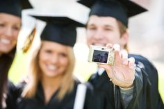 Ensure that your #graduation day is made memorable by approaching it with your best face forward!