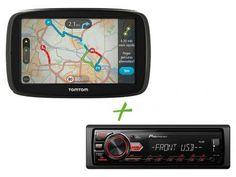 """GPS Automotivo Tomtom GO 50B Tela 5"""" - Alerta Radar Mapas 3D + Som Automotivo Pioneer com as melhores condições você encontra no Magazine Lojaslui. Confira!"""
