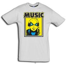 """T-Shirt men """"Music"""" - FREIE FARBAUSWAHL von MAD IN BERLIN auf DaWanda.com"""