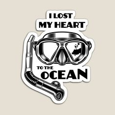I Lost my Heart to the Ocean by StudioIdea | Redbubble Losing Me, Sell Your Art, Top Artists, My Heart, Lost, Ocean, Stickers, Embellishments, Paper