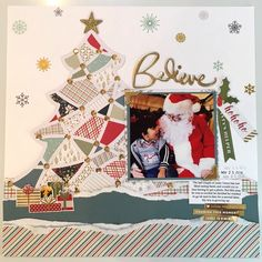Believe - Fancy Pants Designs - Merry and Bright Collection