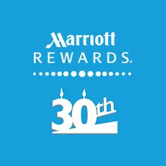 Marriott Rewards turns 30 this year and to celebrate, they are hosting surprise parties for your loved ones all year long! Nominate someone today!