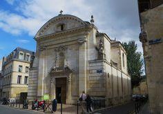 Ancienne chapelle de la Maison des Dames de Saint Joseph (1616), rue Paul-Louis Lande, quartier Sainte Eulalie, Bordeaux, Gironde, Aquitaine