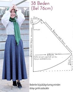 Fashion Sewing Clothing Accessory Design Hijab DIY Combination Hijab Fashion Mother Baby Book Daily Women Site Related posts:A nice shot. Inspiration Picture of Baby Booties Sewing PatternDog Key Pouch - Beagle Sewing Dress, Skirt Patterns Sewing, Clothing Patterns, Sewing Clothes Women, Dress Clothes For Women, Muslim Fashion, Hijab Fashion, Pola Rok, Hijab Mode