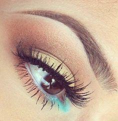 Pretty eyeshadow.