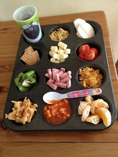 Snack Time Recipe. FUNTASTIC IDEA!!!  My picky kids would love this :)  www.absolutelygf.com #AbsolutelyGF