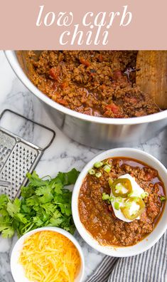 This Low Carb Chili is amazing for weeknight dinners, and it is so easy to make! Chili is amazing for meal prep, freezing, and can be enjoyed any time of the year! Low Carb Chili Recipe, Paleo Chili, Lamb Recipes, Chili Recipes, Ketogenic Recipes, Keto Recipes, Clean Eating Dinner, Whole 30 Recipes, Whole30