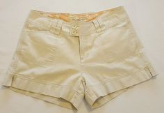 Women's Maurices Beige Chino Shorts Size 11/12 Juniors 100% Cotton #215 in Clothing, Shoes & Accessories, Women's Clothing, Shorts   eBay