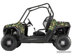 Buy Camo  Woodland (2011  RZR XP) (Woodland 8) #ATV