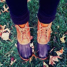 bean boots... I want some for Christmas!!