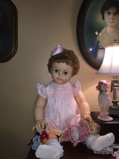 Suzy Patti Playpal family Marla's dolls
