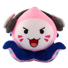 Overwatch DVa Pachimari Plush is a new custom made toy which is the combination of DVa with Pachimari