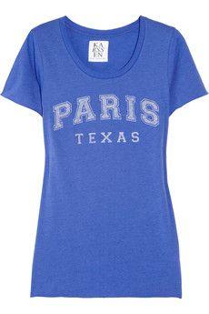Paris Texas cotton and modal-blend T-shirt