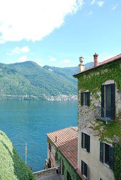 View from Villa Balbianello, Lenno, Lake Como, Italy