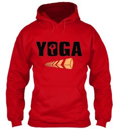 Yoga Red Hoodie $32 only