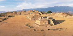 Atardecer en Monte Albán et la Oaxaca