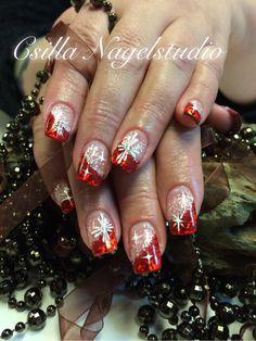 Rood Kerstnagels