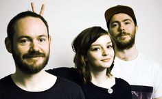 "CHVRCHES - Awesome band.... ""Alt-Nation"" frequent and absolutely one of my new alternative, techno, quick-beat favorite!"