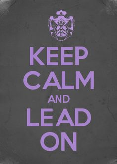 KEEP CALM AND LEAD ON YCL t-shirt design