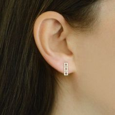 Allison Joy Diamond Earrings | Dana Rebecca Designs