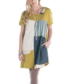 Take a look at this Ribbonwork Clothing Mustard Yellow Mixer Shift Dress on zulily today! Shift Dresses, Summer Dresses, Earthy Style, Cool Style, My Style, Eclectic Style, Mustard Yellow, Boho Fashion, Vintage Inspired