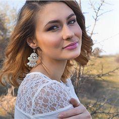 Svadba 2018 - šujtášové náušnice Swarovski, Drop Earrings, Jewelry, Fashion, Moda, Jewlery, Jewerly, Fashion Styles, Schmuck