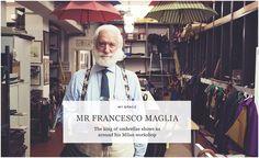 mr francesco maglia | The king of Umbrellas