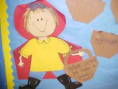Goldilocks....throughout the school year the cutest ideas are on this site!