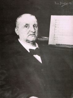 Josef Anton Bruckner fue un compositor y organista austriaco -  4 de septiembre de 1824, Ansfelden, Austria - 11 de octubre de 1896, Viena, Austria