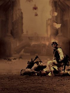 Black Hawk Down - epic production design and framing