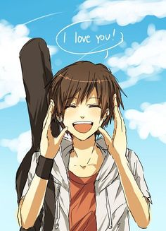 anime guy with brown hair - Google Search