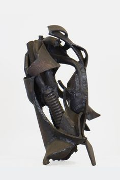 Marcus White, Untitled, Welded Steel, 7.625 x 8.5 x 14.75i inches.