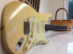 1961 Orig Fender Stratocaster Vintage Strat 7-1/4 lb Blond Killer Player | eBay