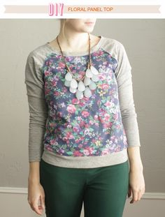 When J.Crew released their spring line, I immediately fell in love with this floral panel sweater. Of...